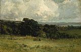 Edward Mitchell Bannister Pleasant Pastures painting