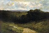 Edward Mitchell Bannister The Road to the Valley painting