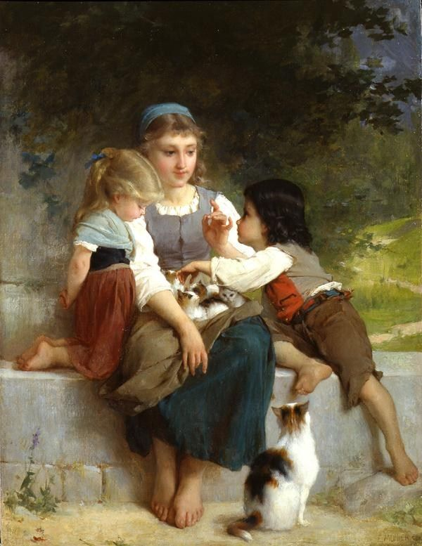 Emile Munier The New Pets