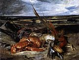 Eugene Delacroix Still-Life with Lobster painting