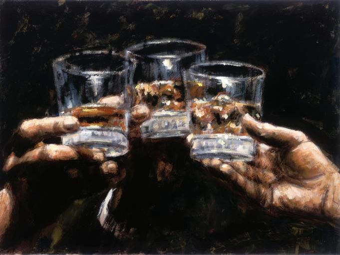 Fabian Perez Study for Whiskey