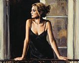 Fabian Perez BUENOS AIRES VIII painting