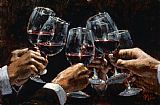 Fabian Perez FOR A BETTER LIFE VI painting