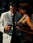 Fabian Perez The Proposal XII painting