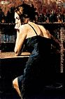 Fabian Perez Wondering at Las Brujas painting