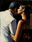 Fabian Perez the proposal IX painting