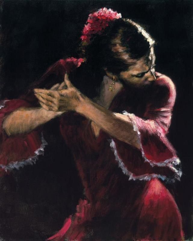 Flamenco Dancer Study for Flamenco