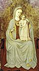 Fra Angelico Madonna con Bambino painting