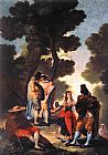 Francisco de Goya A Walk in Andalusia painting