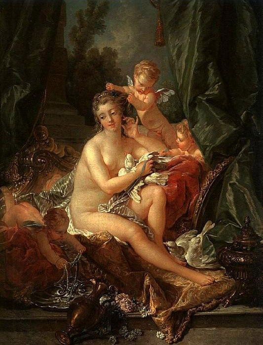 Francois Boucher Toilet of Venus