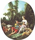 Francois Boucher Are They Thinking About the Grap painting