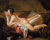 Francois Boucher L'Odalisque Blonde painting