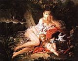 Francois Boucher Venus and Cupid painting