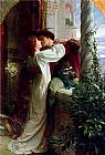 Frank Dicksee Romeo and Juliet cropped painting