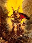 Frank Frazetta Dark Kingdom painting
