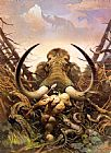 Frank Frazetta The Mammoth painting