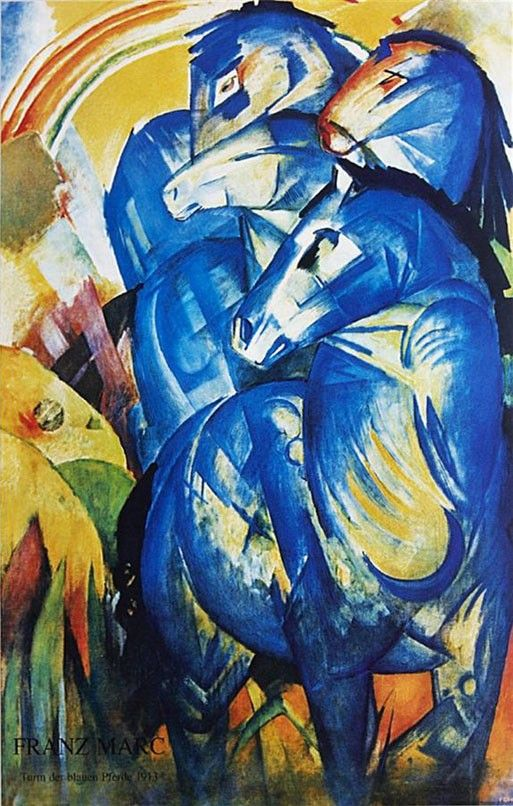 Franz Marc Group of Horses