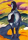 Franz Marc Blue Horse II painting