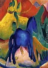 Franz Marc Blue Horses painting