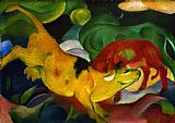 Franz Marc Kuhe painting