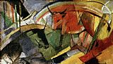 Franz Marc Rinder painting