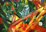 Franz Marc The Monkey painting