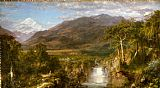 Christ paintings - The Heart of the Andes by Frederic Edwin Church