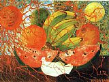 Frida Kahlo Fruit of Life painting