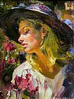 Garmash ANASTASIA painting