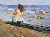 Garmash Beauty on the Shore painting