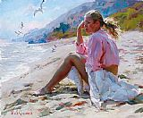 Garmash By the shore painting