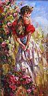 Garmash IN THE FIELDS painting