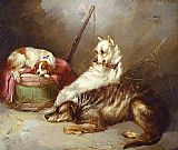 George Armfield Before the Hunt painting