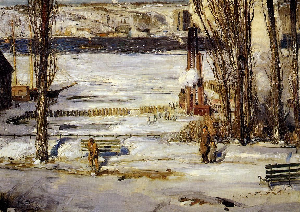 George Bellows A Morning Snow