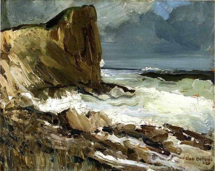 George Bellows Gull Rock and Whitehead