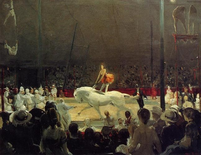 George Bellows The Circus