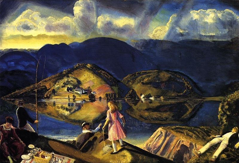 George Bellows The Picnic