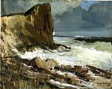 George Bellows Gull Rock and Whitehead painting