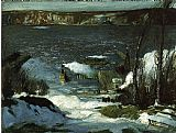 George Bellows North River painting