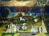 George Bellows Summer Fantasy painting