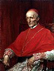 George Frederick Watts Cardinal Manning painting