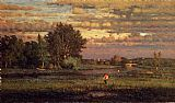 George Inness Clearing Up painting