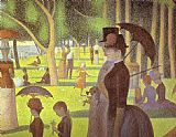 A Sunday on La Grande Jatte Detail