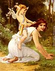 Guillaume Seignac Cupid's Folly painting