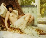 Guillaume Seignac L'Odalisque Aux Colombes painting