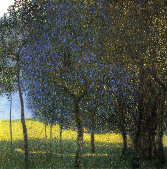 Gustav Klimt Fruit Trees