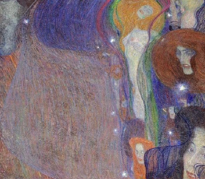 Gustav Klimt Irrlichter (Will-O'-The Wisps)