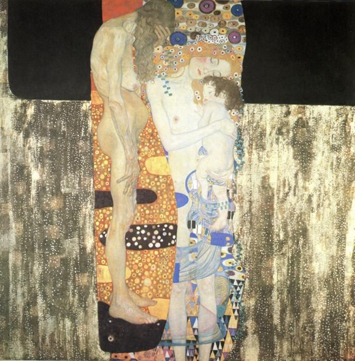 Gustav Klimt The Three Ages of Woman