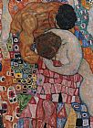 Gustav Klimt Death and Life painting
