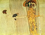 Gustav Klimt The Beethoven Frieze painting
